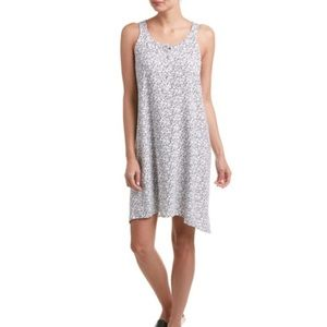Splendid eyeglasses print tank swing dress
